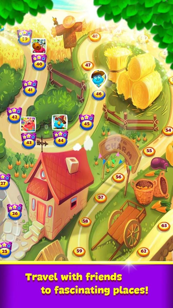 دانلود Farm Charm – Match 3 Blast King Games 2.1.3 – بازی جذاب مزرعه داری اندروید