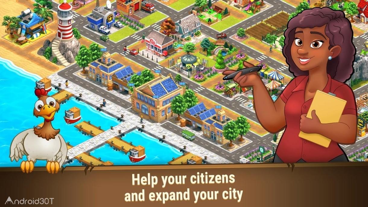 دانلود Farm Dream: Village Harvest 1.10.2 – بازی شبیه سازی مزرعه داری اندروید