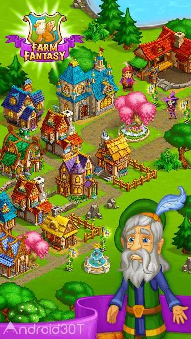 دانلود Farm Fantasy: Happy Magic 1.27 – بازی مزرعه داری جدید اندروید