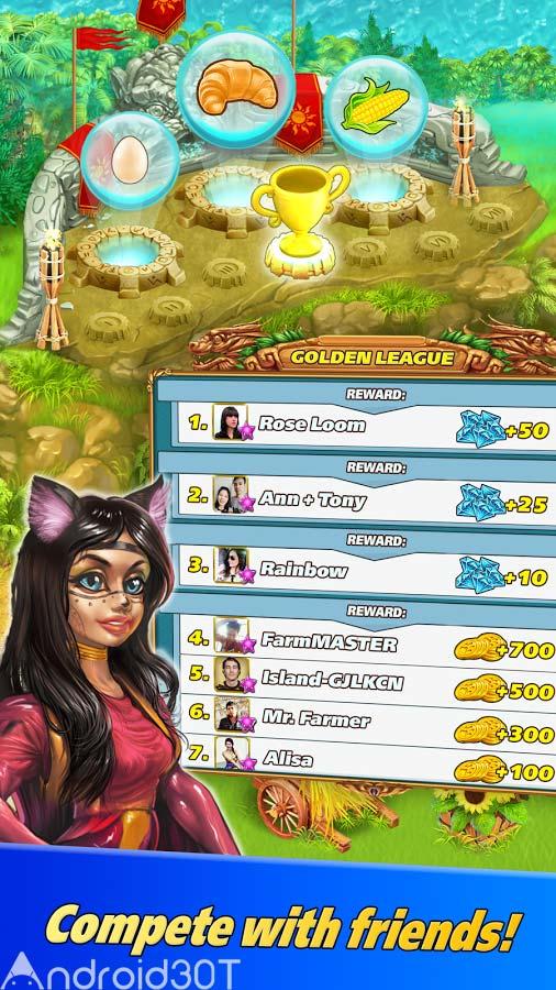 دانلود Farm Tribe 3: Cooking Island 1.2.0 – بازی جالب مزرعه داری 3 اندروید