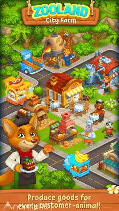 دانلود Farm Zoo Happy Day in Animal Village and Pet City 1.35 – بازی شبیه سازی باغ وحش اندروید