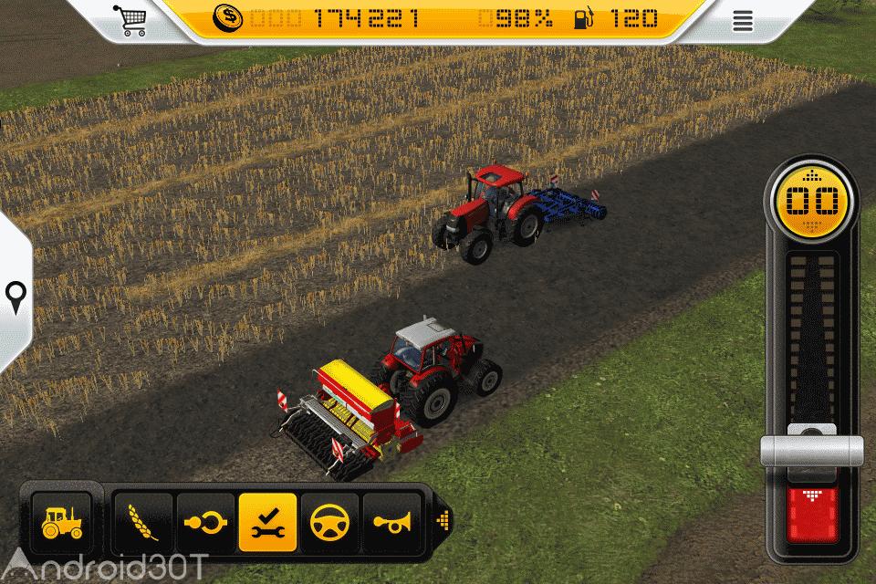 دانلود Farming Simulator 14 v1.4.8 – شبیه ساز کشاورزی اندروید