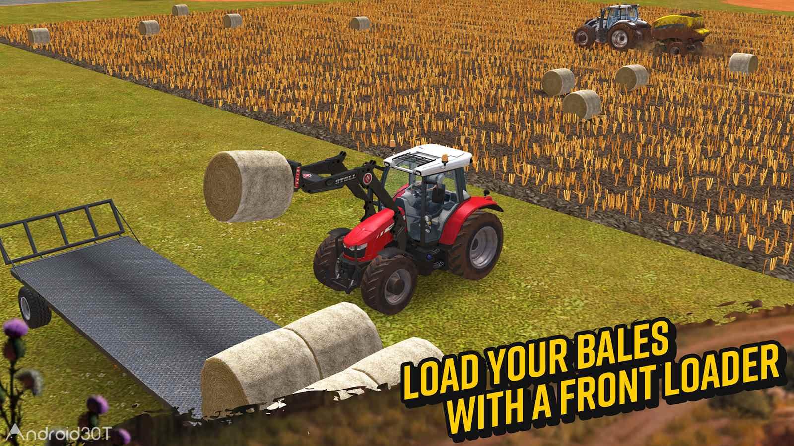 دانلود Farming Simulator 18 v1.4.0.6 – بازی شبیه سازی کشاورزی 2018 اندروید