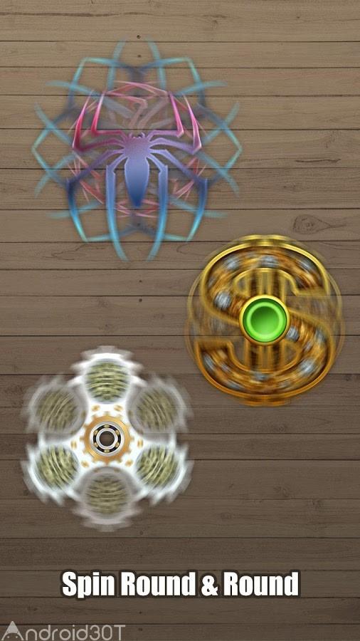 دانلود Fidget Hand Spinner 2.5 – بازی اسپینر اندروید