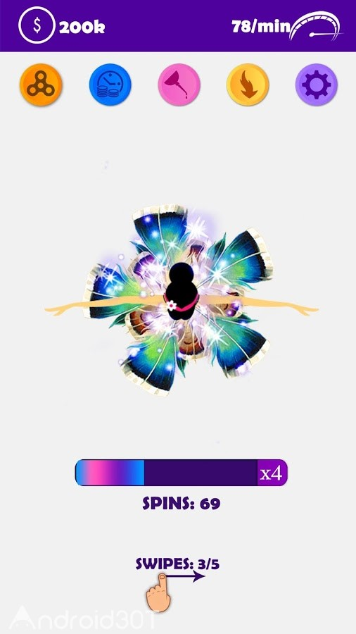 دانلود 1.3 Fidget Spinner – Ballet Spinner – بازی سرگرم کننده اسپینری اندروید