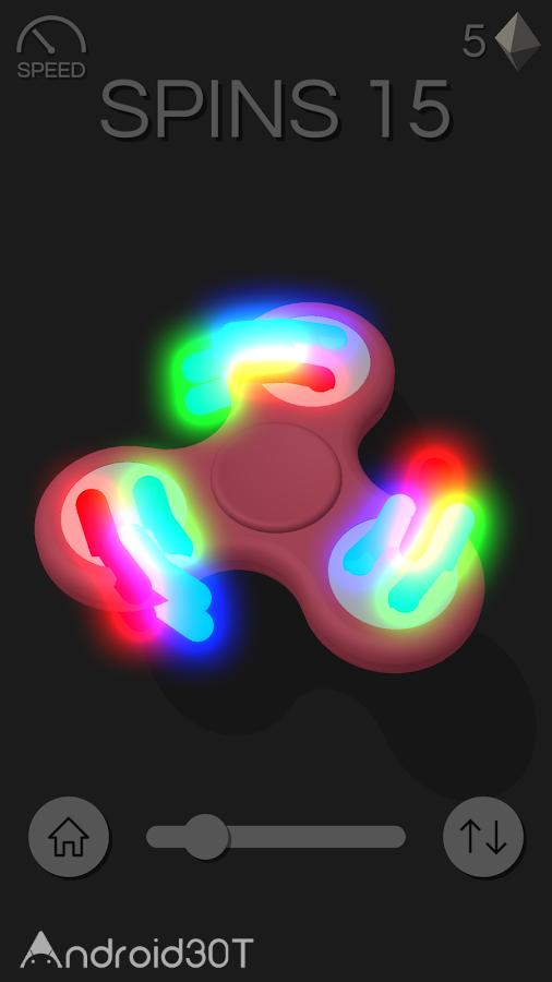 دانلود 1.5 Fidget Spinner Pro – بازی سرگرم کننده فیدجت اسپینر اندروید