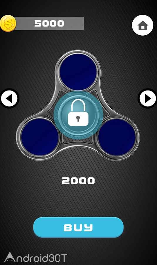 دانلود 1.4 Fidget spinner simulator – بازی سرگرم کننده و متفاوت اسپینر اندروید