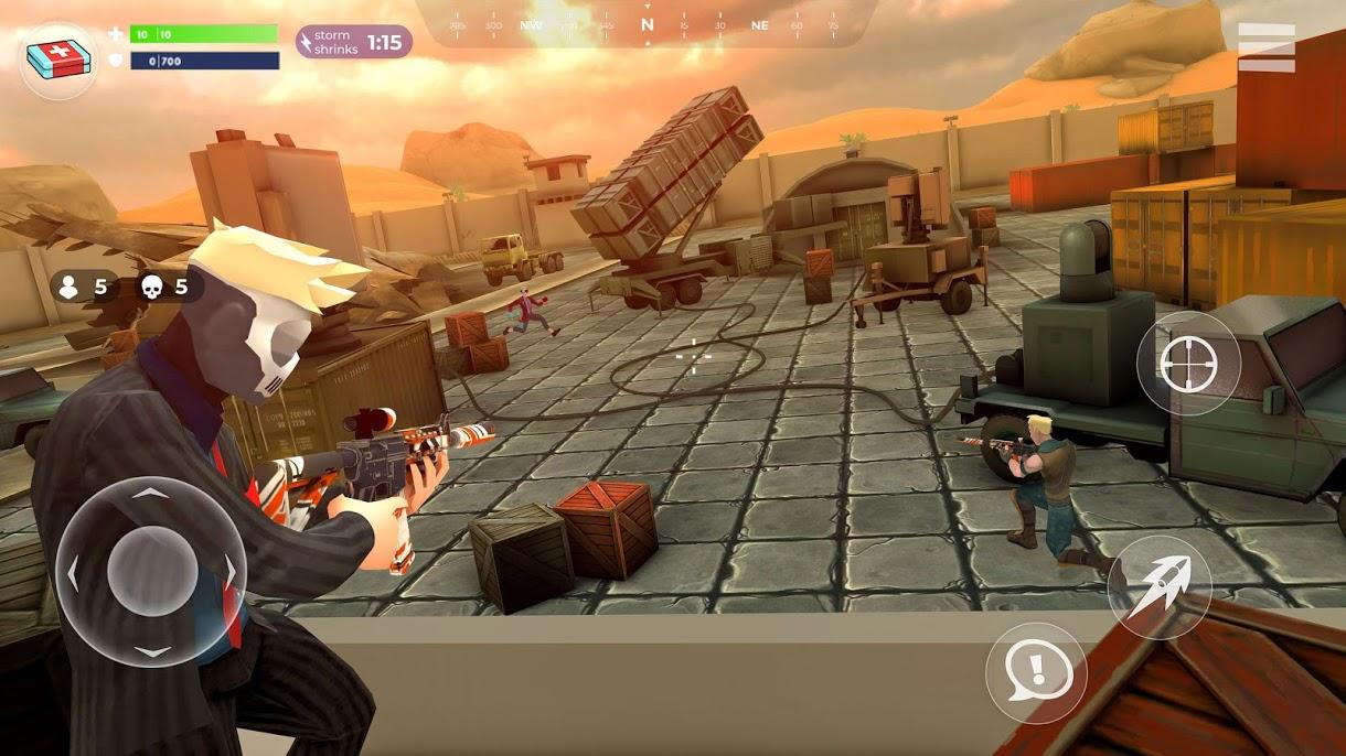 دانلود FightNight Battle Royale: FPS Shooter 0.6.0 – بازی تیراندازی آنلاین برای اندروید