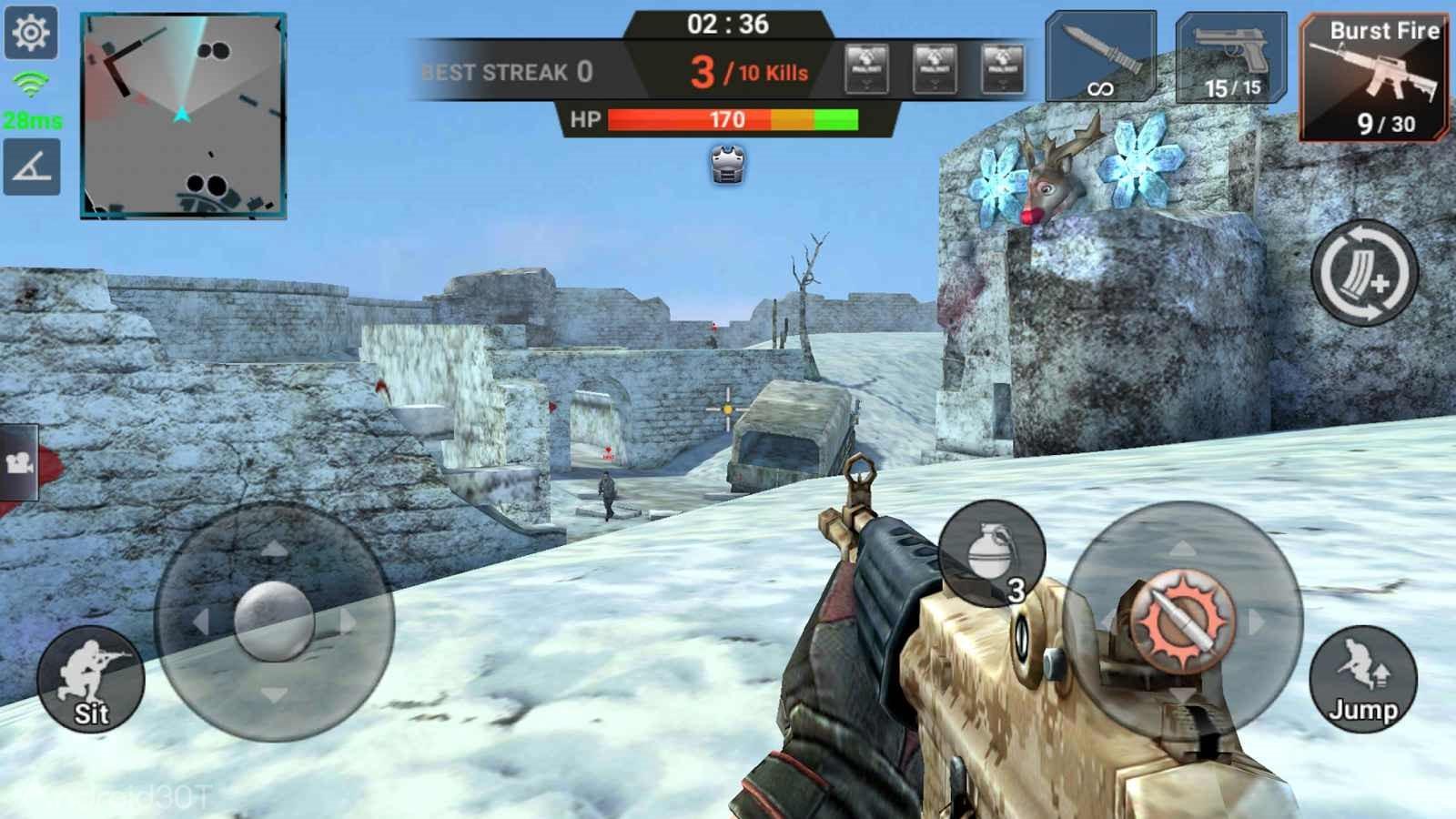 Final Shot 1.1.4 – بازی فاینال شات تیراندازی آنلاین اندروید