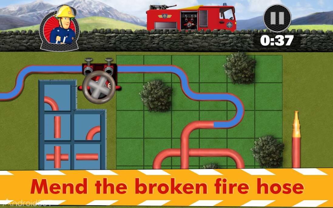 دانلود 4.0 Fireman Sam : Fire and Rescue – بازی سام آتش نشان برای اندروید