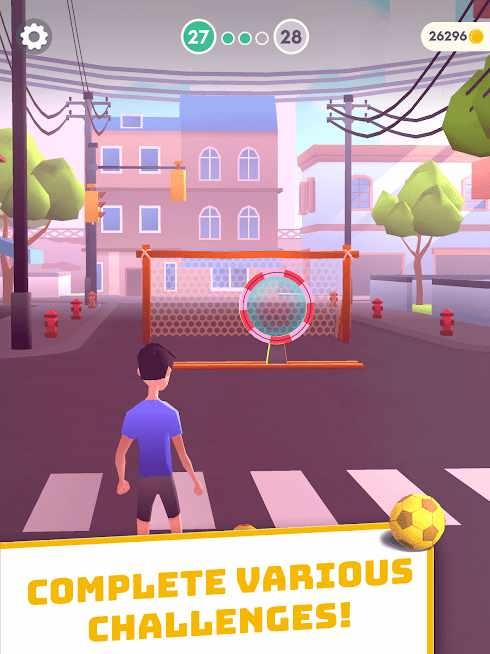 دانلود Flick Goal! 1.83 – بازی ورزشی ضربات ایستگاهی اندروید
