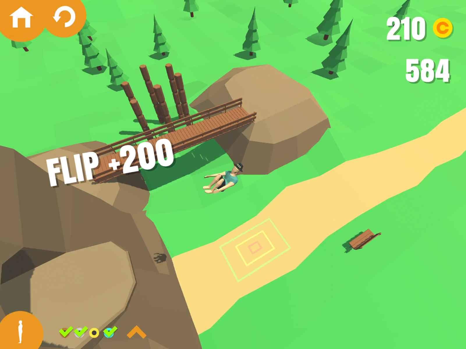 دانلود Flip Trickster 1.10.4 – بازی پارکور حرفه ای برای اندروید