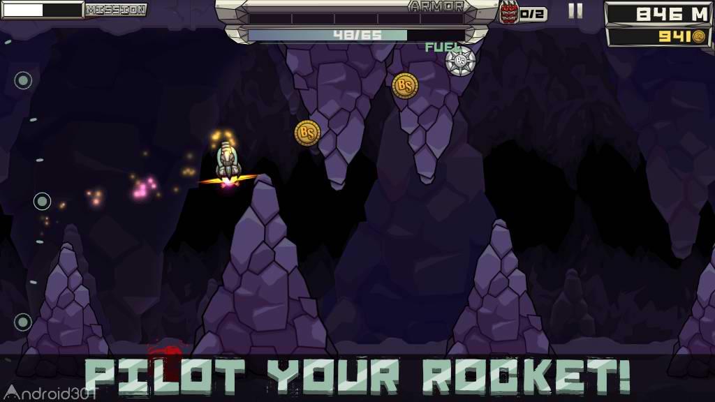 دانلود Flop Rocket 100.0.19 – بازی رقابتی شلیک موشک برای اندروید