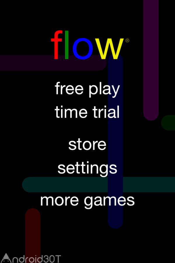 دانلود Flow Free 3.9 – بازی پازلی نقطه و لوله رنگی اندروید