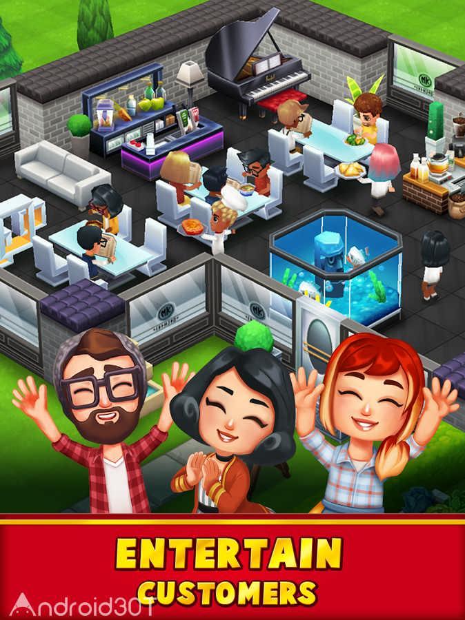 دانلود Food Street – Restaurant Game 0.51.3 – بازی آشپزی و رستوران داری اندروید