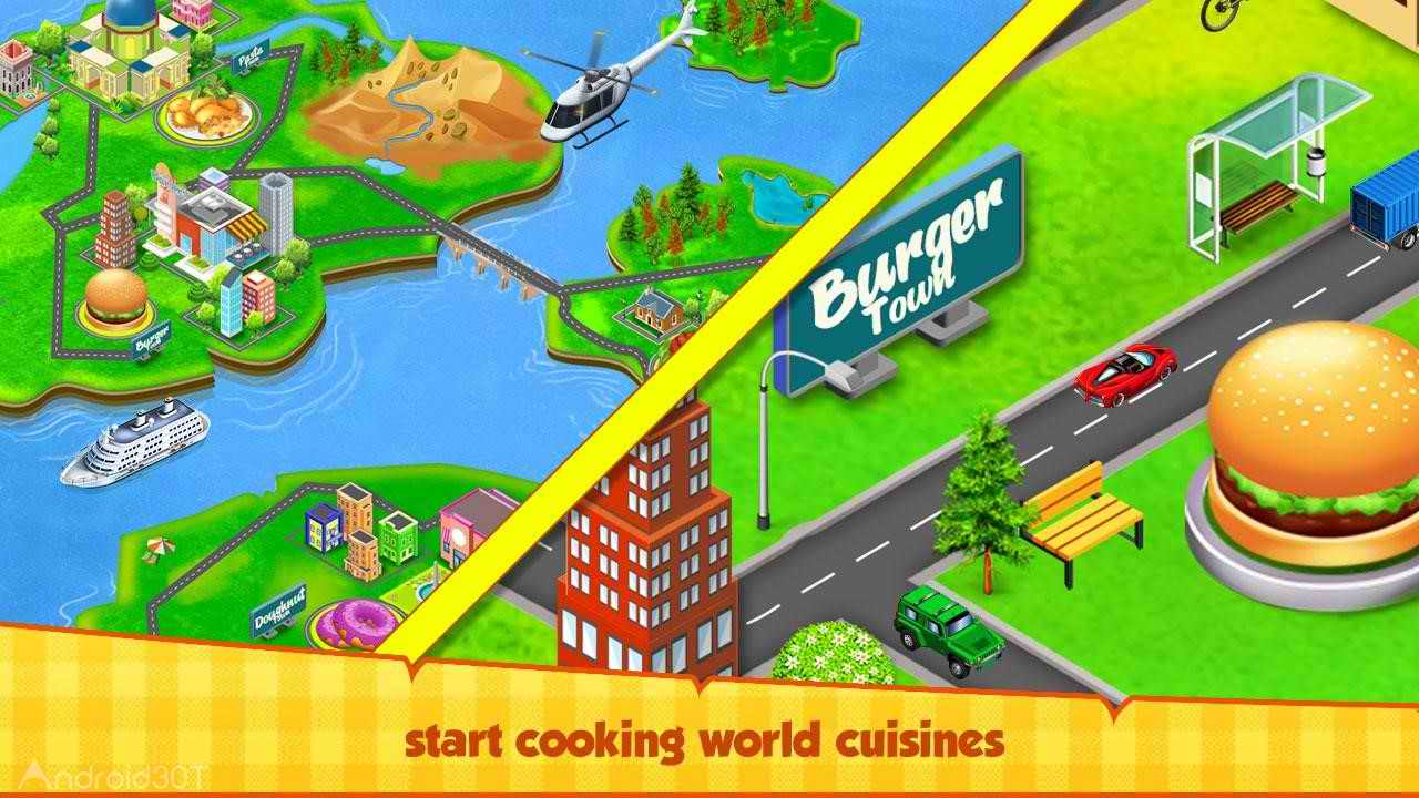 Food Truck - The kitchen Chef's Cooking Game