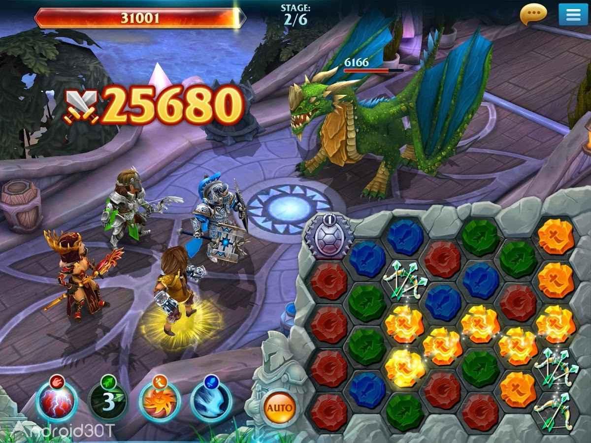 دانلود Forge of Glory 1.6.5 – بازی نقش آفرینی ایجاد افتخار اندروید