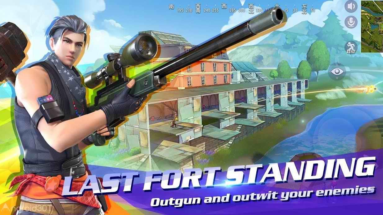 دانلود FortCraft 0.10.115 – بازی اکشن فورت کرافت اندروید