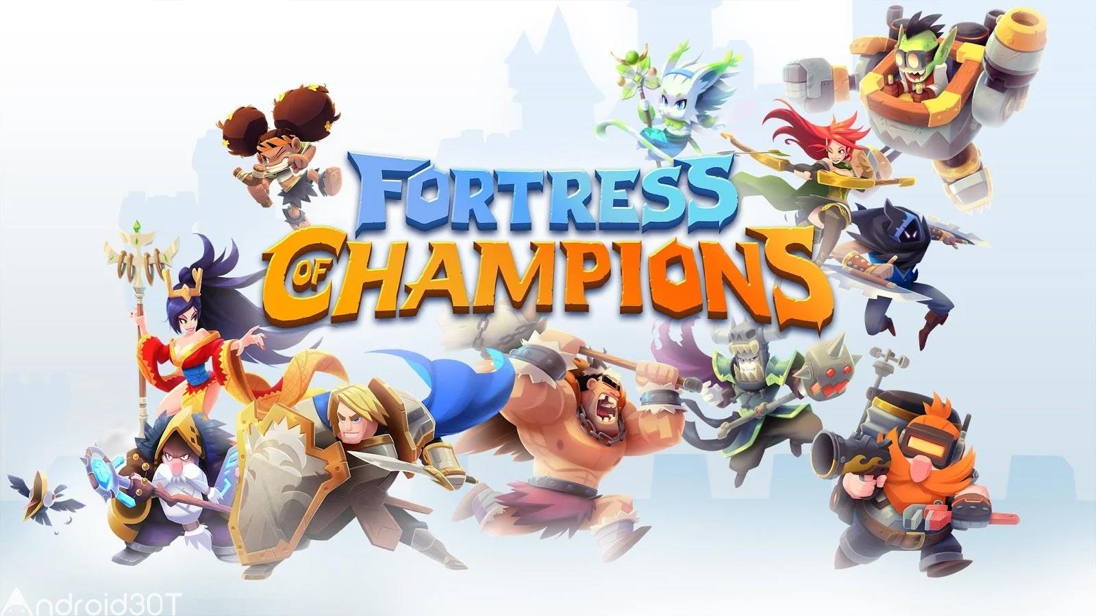 دانلود Fortress of Champions 1.19.53414 – بازی قلعه قهرمانان اندروید