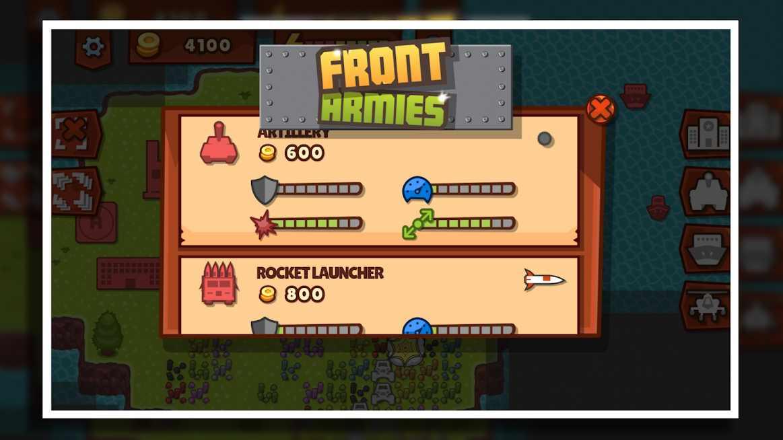 دانلود Front Armies RTS 1.5.0 – بازی اکشن برای اندروید
