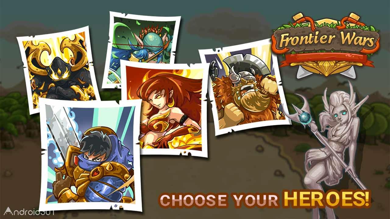دانلود Frontier Wars 1.8 – بازی استراتژیکی جنگ های مرزی اندروید