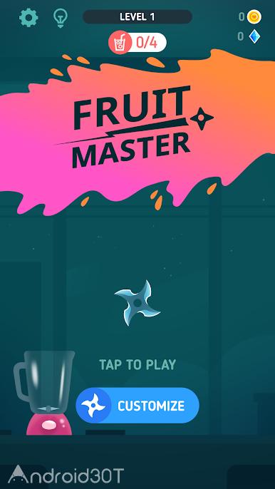 دانلود Fruit Master 1.0.1 – بازی رقابتی برش میوه های اندروید
