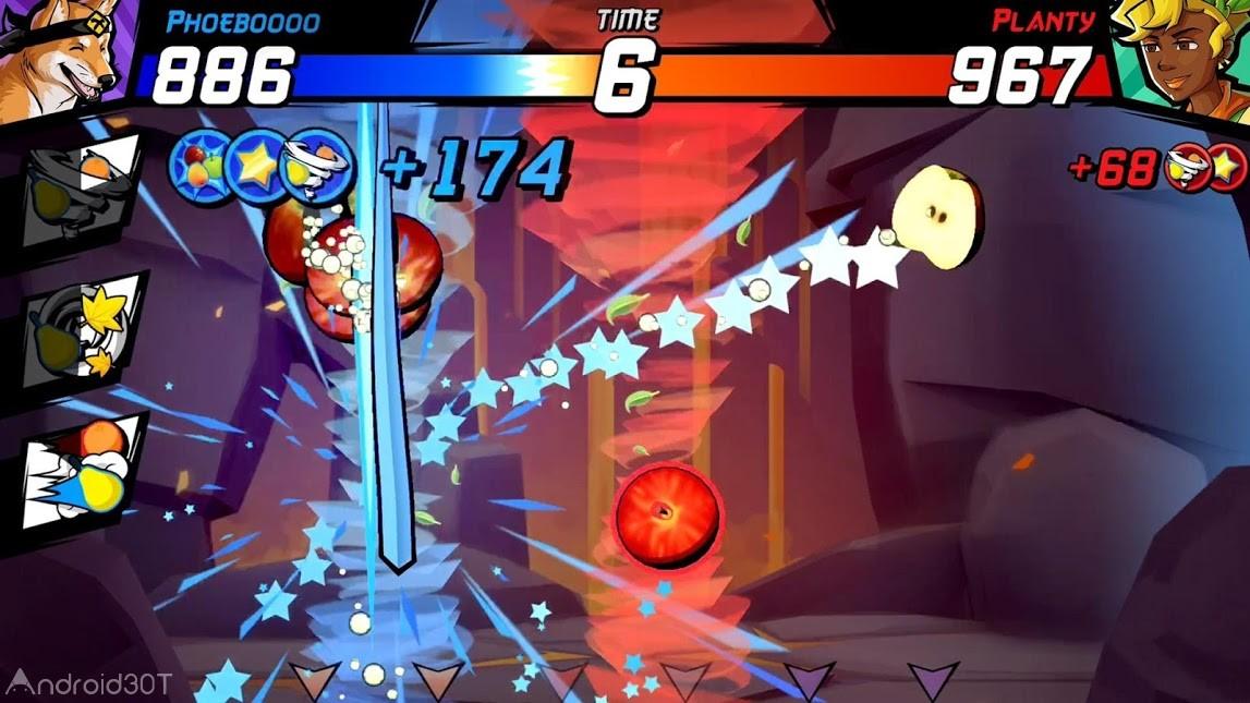 دانلود Fruit Ninja Fight 2.3.0 – بازی اکشن  فروت نینجا اندروید