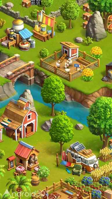 دانلود Funky Bay 40.2.98 – بازی شبیه ساز کشاورزی برای اندروید