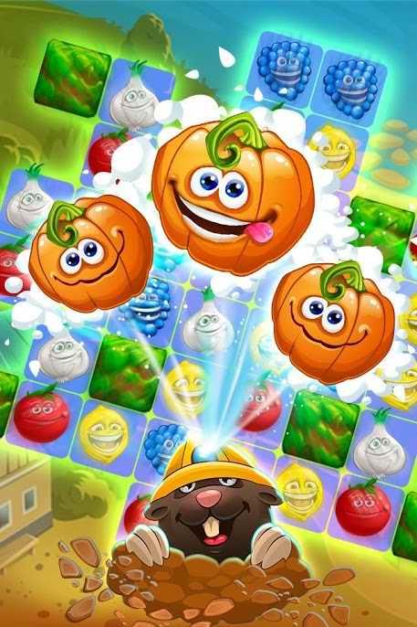 دانلود Funny Farm match 3 1.53.0 – بازی پازلی رنگارنگ اندروید