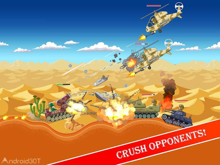 دانلود Funny Tanks 1.5 – بازی اکشن جالب برای اندروید