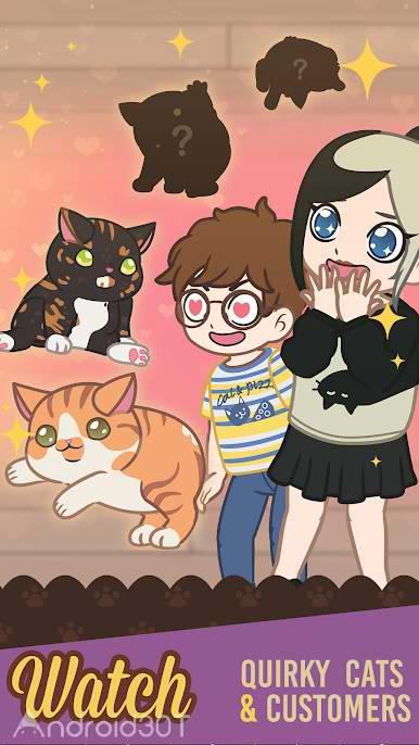 دانلود Furistas Cat Cafe 2.600 – بازی کافه گربه ها برای اندروید