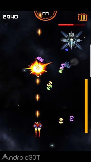 دانلود 1.1 Galaxy Boom – Defend Planet – بازی نبردهای فضایی اندروید