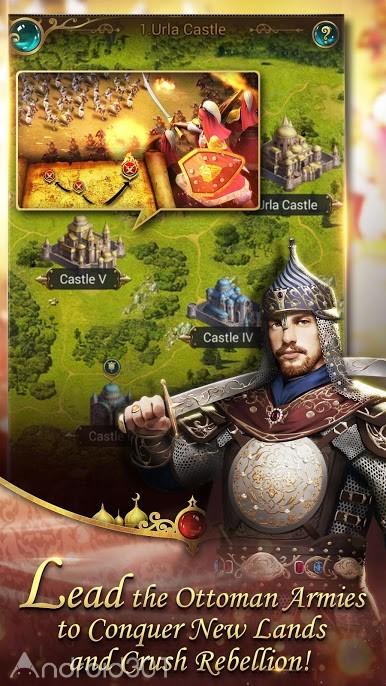 دانلود Game of Sultans 2.3.04 – بازی پادشاهان عثمانی برای اندروید