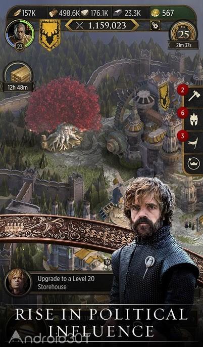 دانلود Game of Thrones: Conquest 3.9.370344 – بازی هیجان انگیز تاج و تخت اندروید