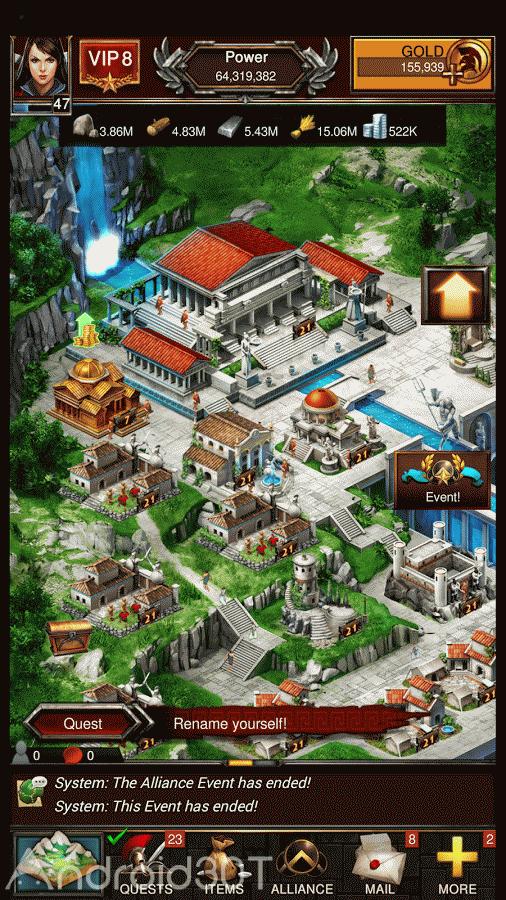 دانلود Game of War – Fire Age 7.0.9.615 – بازی استراتژیک پرطرفدار عصر آتش اندروید