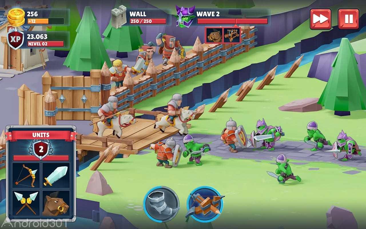 دانلود Game of Warriors 1.4.5 – بازی استراتژیکی نبرد جنگجویان اندروید