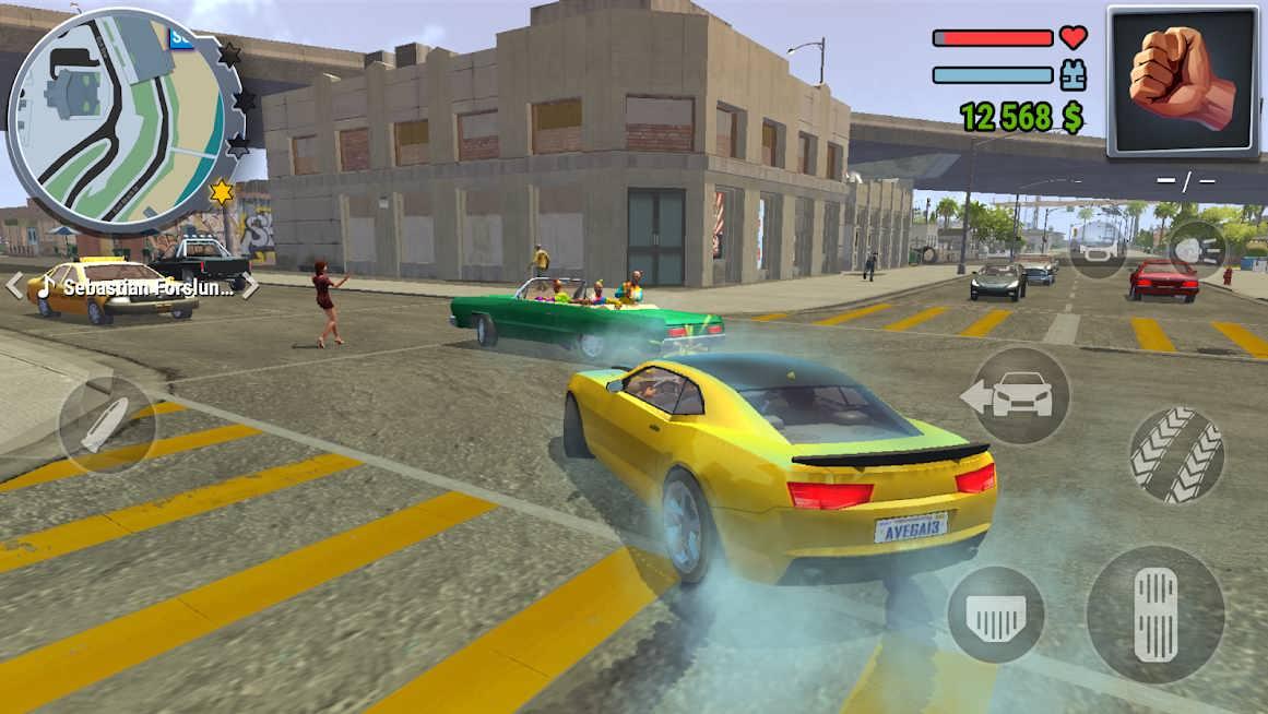 دانلود Gangs Town Story 0.11b – بازی اکشن داستان شهر گنگسترها اندروید