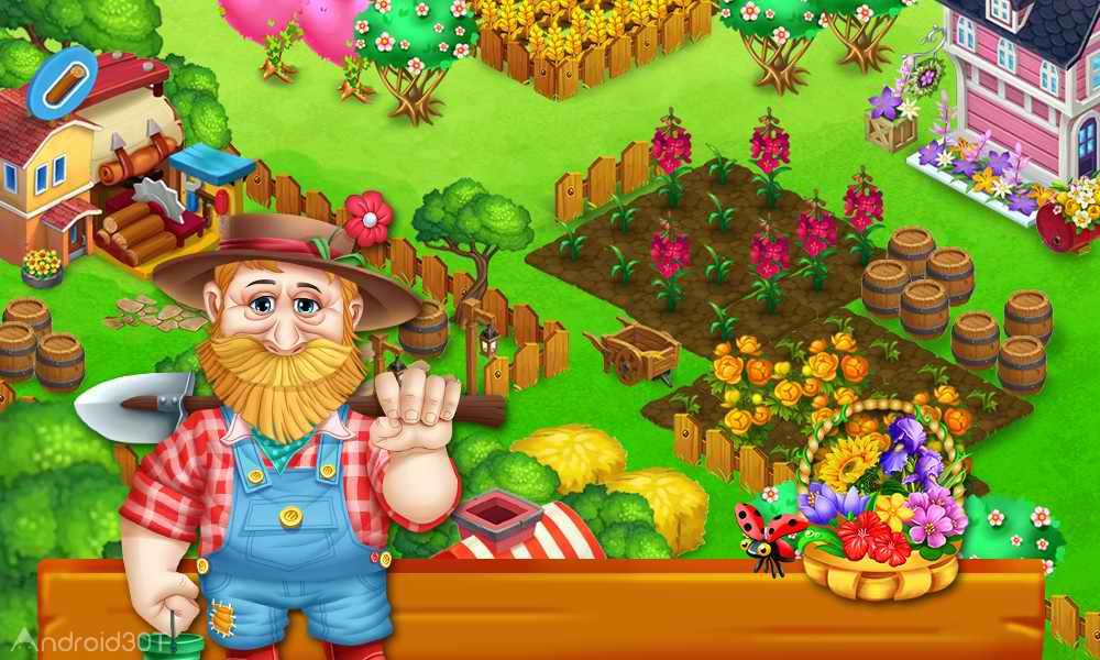 دانلود Garden Flowers Blossom 1.1 – بازی سرگرم کننده باغ گل اندروید