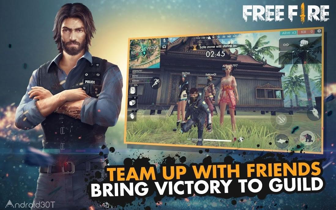 دانلود Garena Free Fire 1.59.5 – بازی اکشن دیتادار برای اندروید