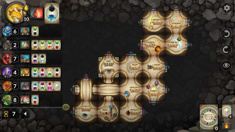 دانلود Gem Rush Board Game 1.2 – بازی سرگرم کننده جواهرات اندروید