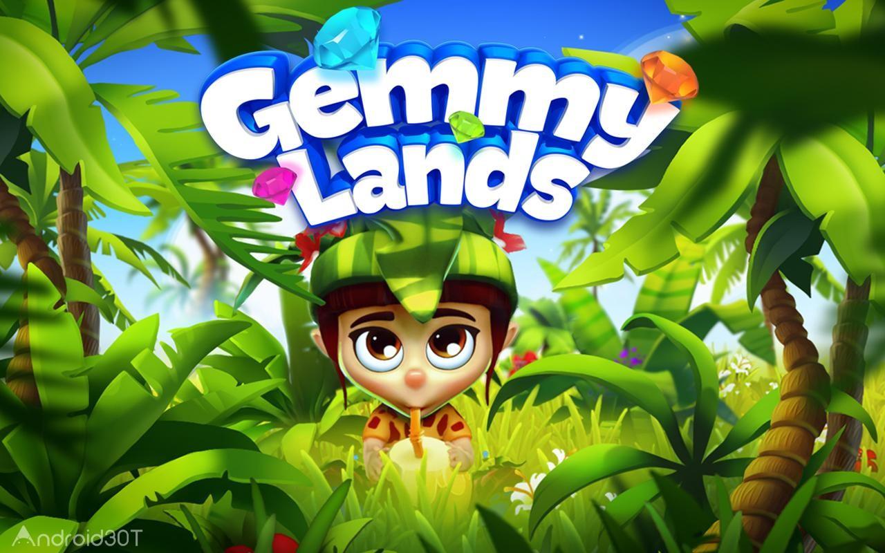 دانلود Gemmy Lands 11.41 – بازی پازلی سرزمین های جیمی اندروید