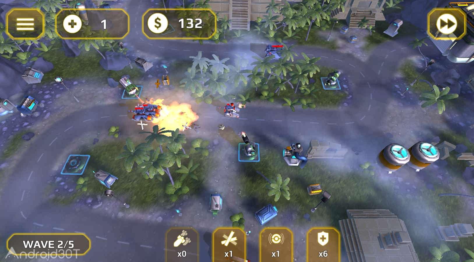 دانلود Generals TD HD 1.2.1 – بازی استراتژیکی ژنرال های برج دفاعی اندروید