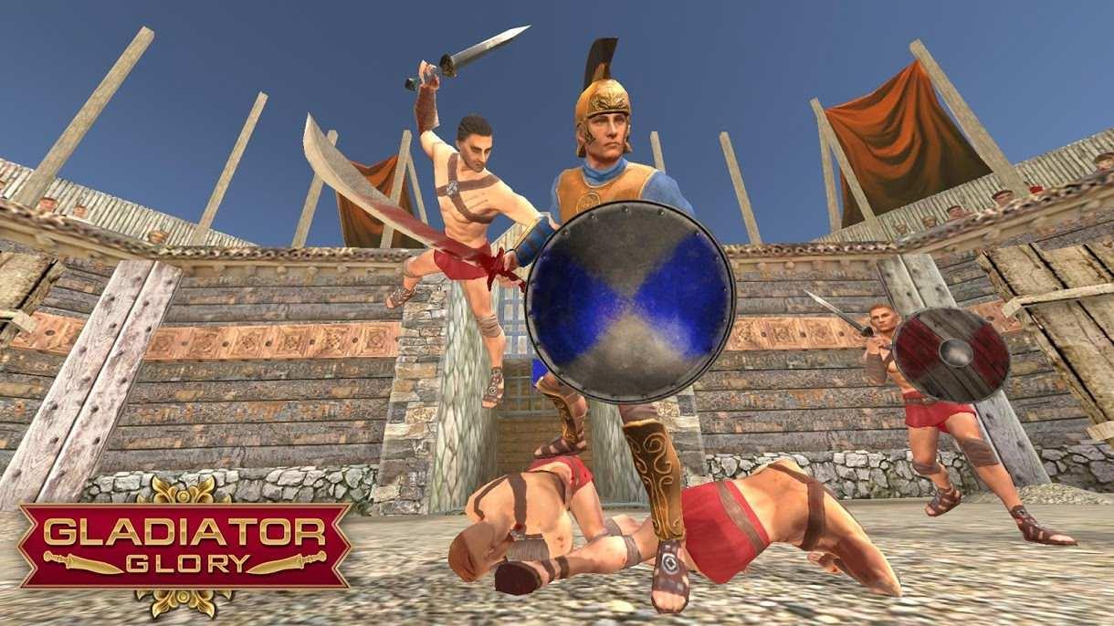 دانلود ۴٫۴٫۰ Gladiator Glory – بازی اکشن نبرد گلادیاتور ها اندروید