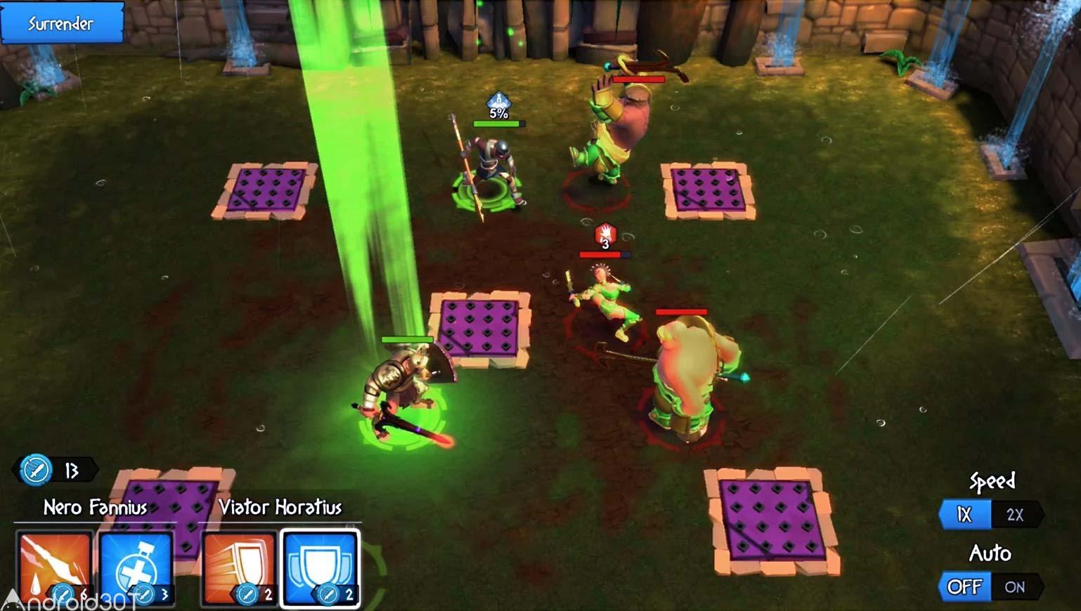 دانلود Gladiator Heroes: Clan War Games 3.4.5 – بازی گلادیاتور های قهرمان اندروید