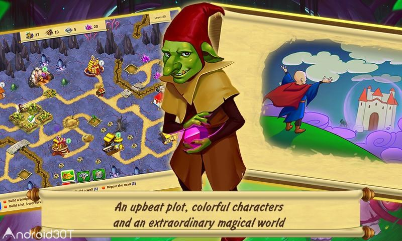 Gnomes Garden 3 v1 – بازی کوتوله های باغ 3 اندروید + دیتا