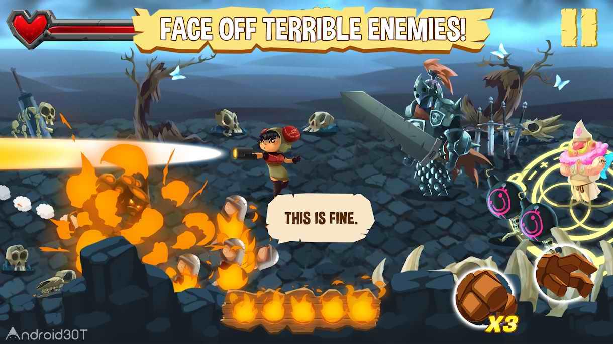 دانلود Golem Rage v1 – بازی خشم گولم برای اندروید