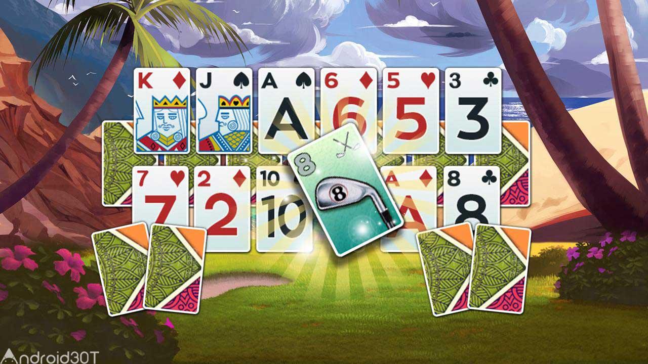 دانلود Golf Solitaire – Green Shot 1.6.3122 – بازی کارت های شگفت انگیز اندروید