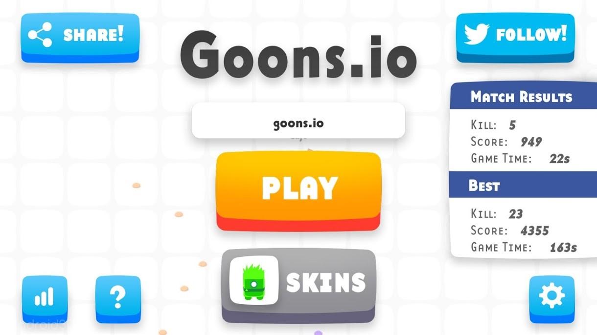 دانلود Goons.io 1.12.5 – بازی اکشن شوالیه جنگجو اندروید