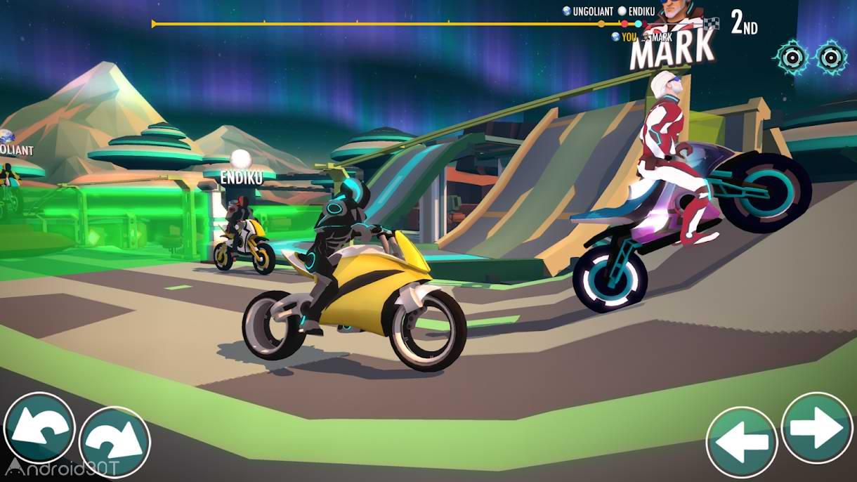دانلود 1.9.9 Gravity Rider Space Bike Racing Game Online – بازی دوچرخه سواری آنلاین اندروید
