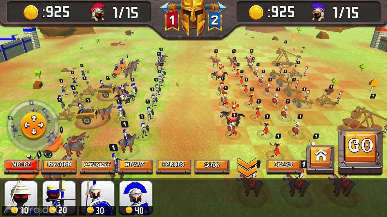 دانلود Greek Warriors : Castle Defence 5.0 – بازی دفاع از قلعه اندروید
